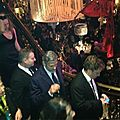 George clooney bafta after party