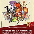 Les fables de la fontaine, l'exposition de fin d'année au scriptorial d'avranches