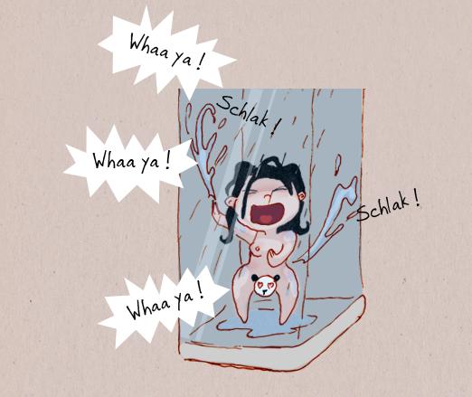la maîtrise de l'eau sous la douche 05