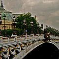 Splendeur du pont Alexandre III.