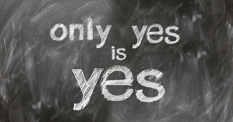 only yes is yes