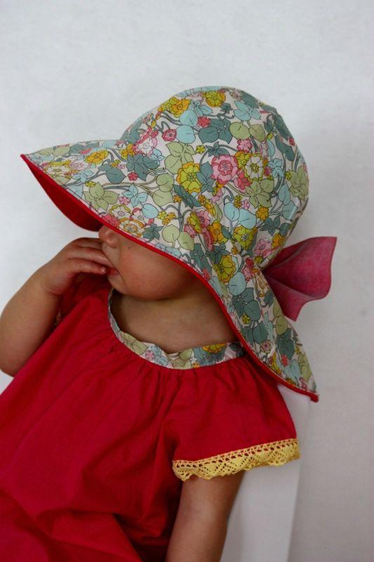 rose chapeau porté