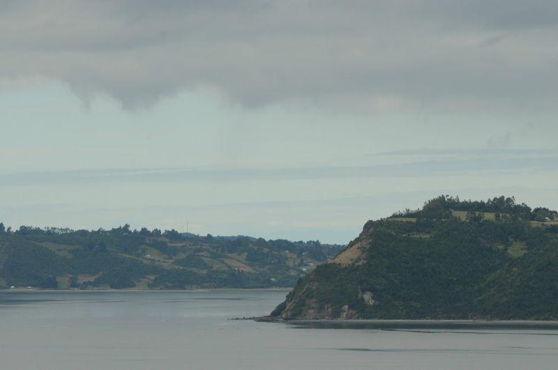 Chiloé Vue sur Achao et les îles