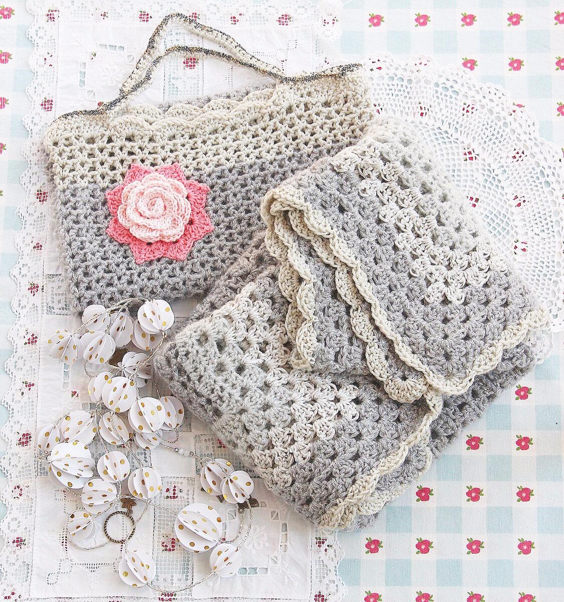 vanillejolie sac crochet