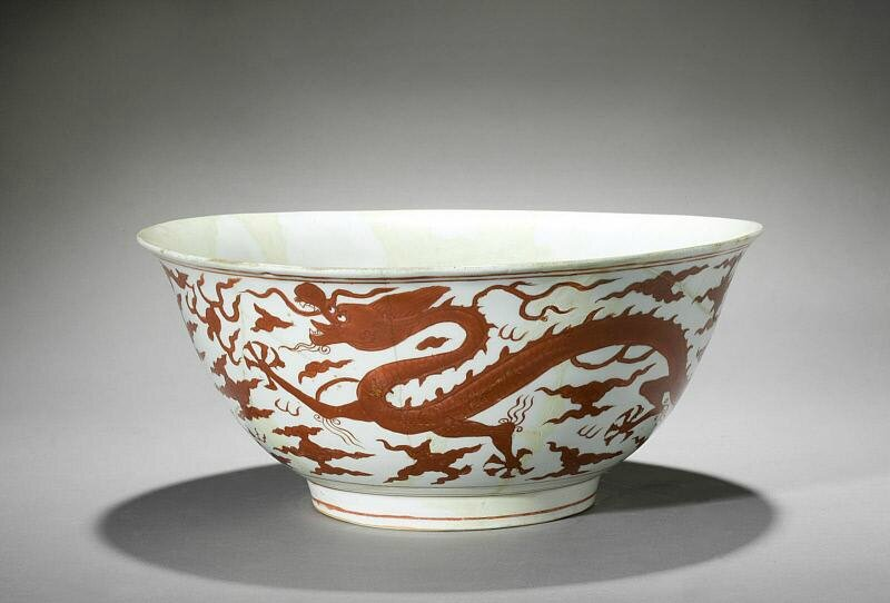 Large bowl, Ming dynasty (1368-1644), Reign of the Jiajing emperor (1522-1566)