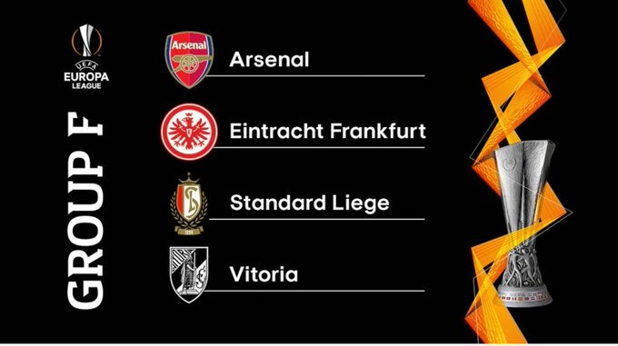 Europa Leauge phase de groupe ( Arsenal groupe F )