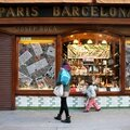 Barcelone - Barri Gotic, vitrine_5091