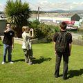Les touristes, Chily, Julie et Thibaut