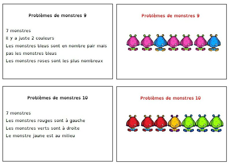 pbl monstres 5