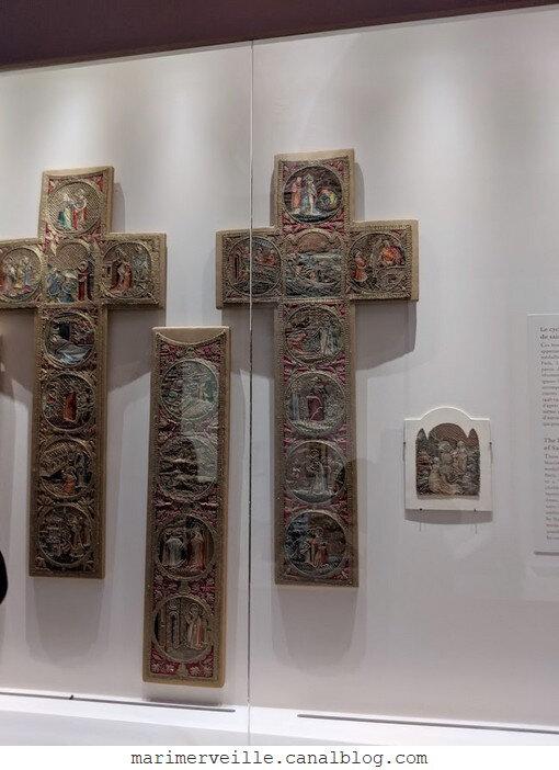 Expo L'art en Broderie Musée de Cluny 26