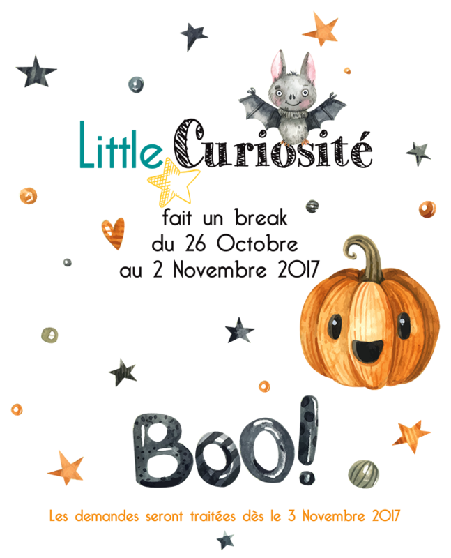 Break Toussaint 2017 - Halloween - Little Curiosité