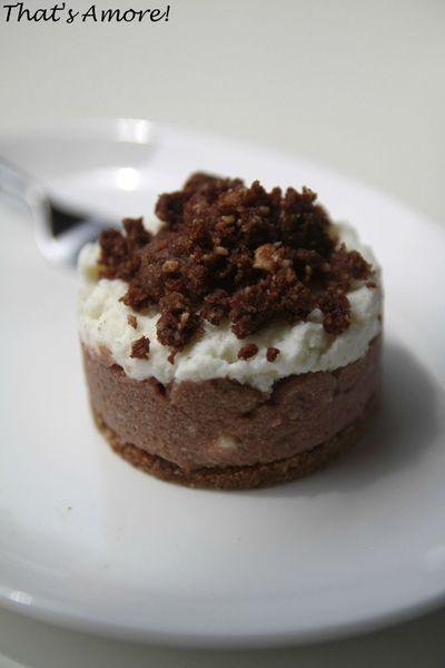 Cheesecake bianco e nero 2