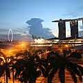 Cartes postales de singapour