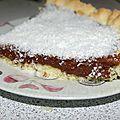 Tarte cocola (nommée par mon mari) ;)