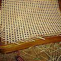 dossier chaise Louis XV