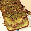 Cake marbre au pesto & tomates séchées