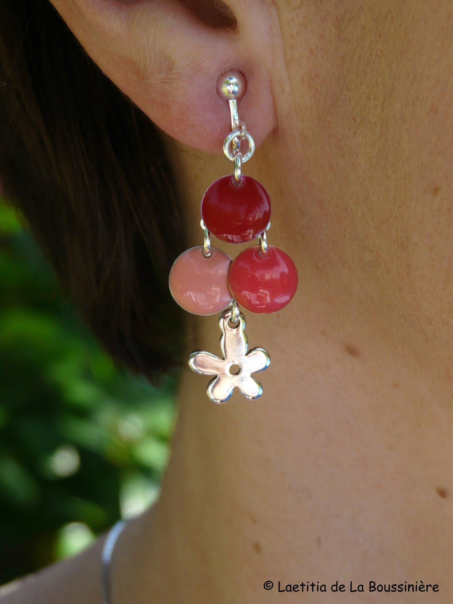 BO Fleur d'été (rouge, orange et corail)