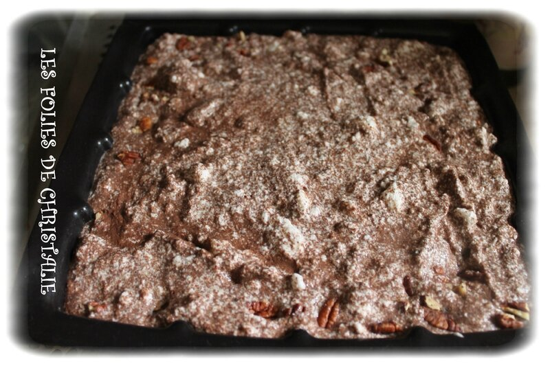 Gâteau magique brownie 10