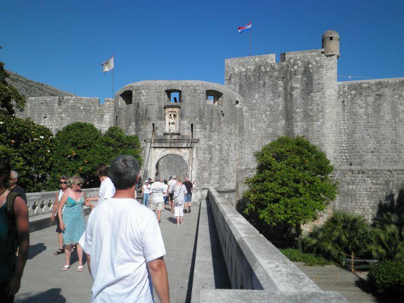 CR - dubrovnik entrée vieille ville