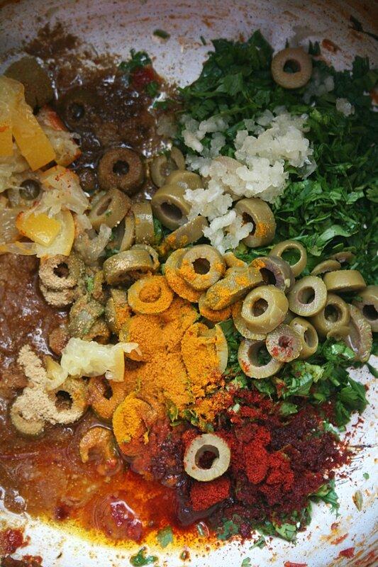 Salade de pourpier à la marocaine aux olives et citron confit- Passion culinaire 2