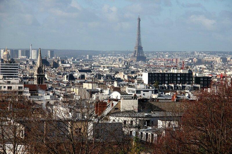 1-Paris, vue parc de Belleville_2535