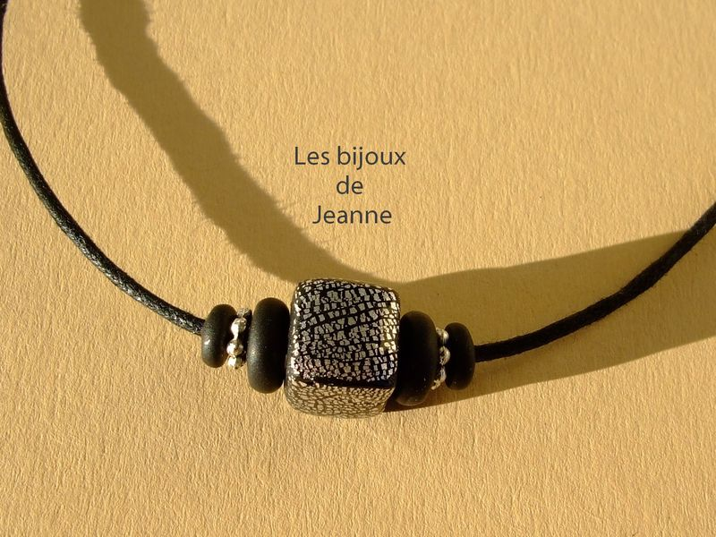 Collier homme grand