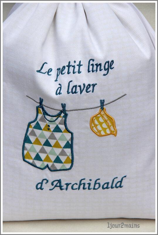 sac a linge d'archibald