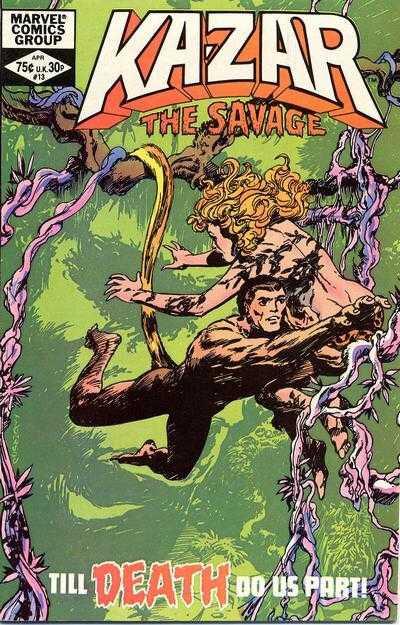 ka-zar the savage 1981 13