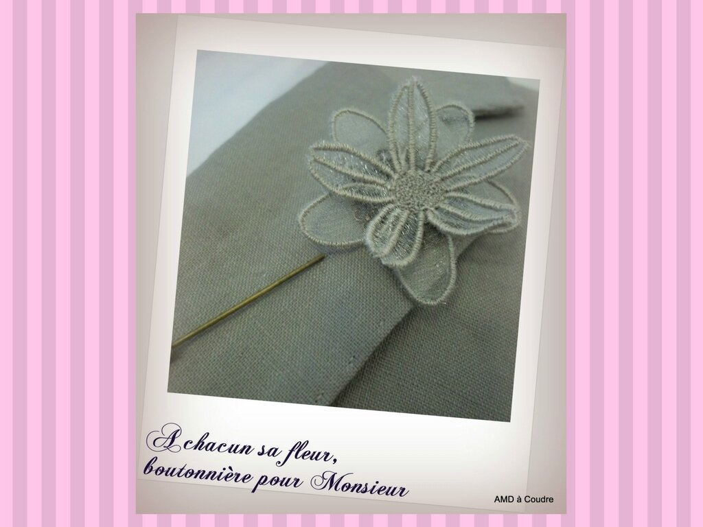 MARIAGE WEDDING ACCESSOIRES BRODERIE DENTELLE AMD A COUDRE (26)