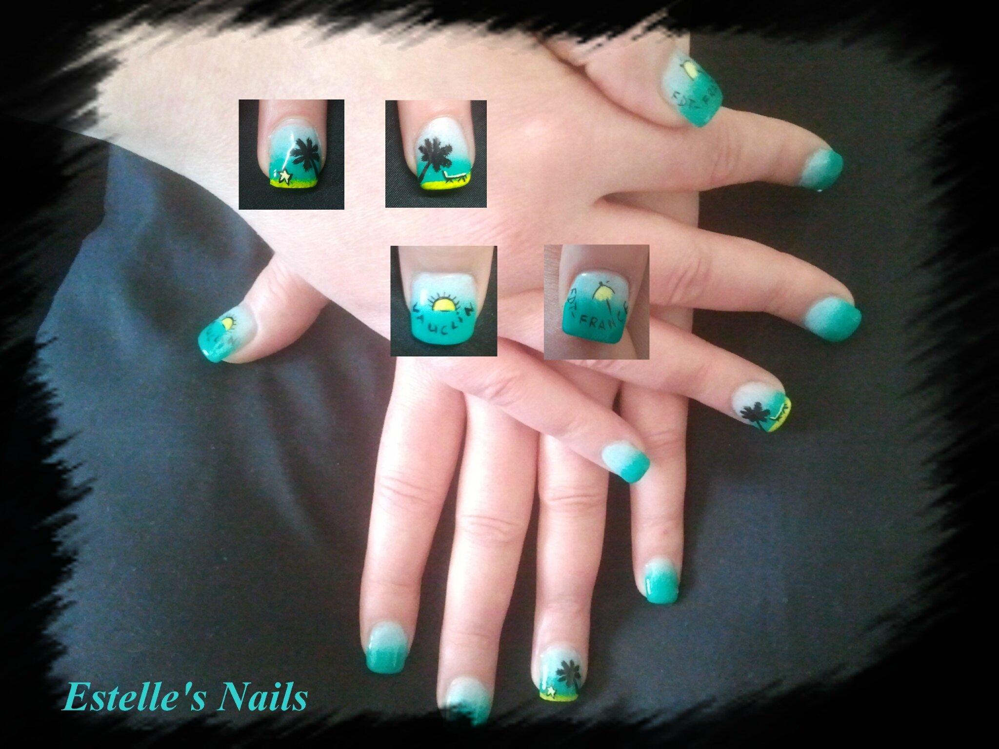 test thermo gel bleu-turquoise sur jessica - les ongles de