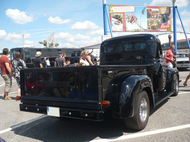 INTERNATIONAL HARVESTER L120 2door pick-up custom Sinsheim (2)