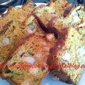 Cake aux crevettes et petits légumes