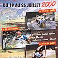 Affiche championnats de france eaux-vives 2000
