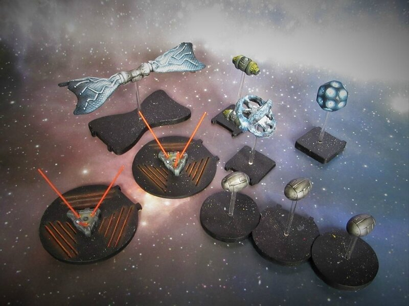 X-Wing mines_and_bomb_set