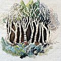 Art textile par Denise Lannou