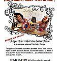 Spectacle: « etre parent mieux vaut en rire » barraux samedi 14 octobre 20h30.