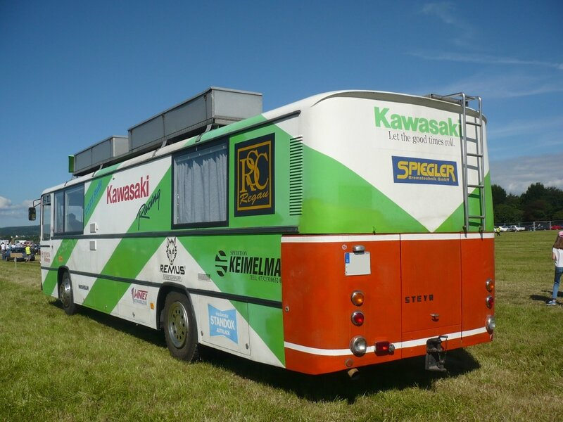 STEYR SL 12H 210 autobus aménagé 1976 Eutingen im Gau (2)