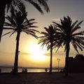 Le coucher de soleil du mercredi 18 août 2010