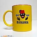 Vaisselle pub ... mug banania *