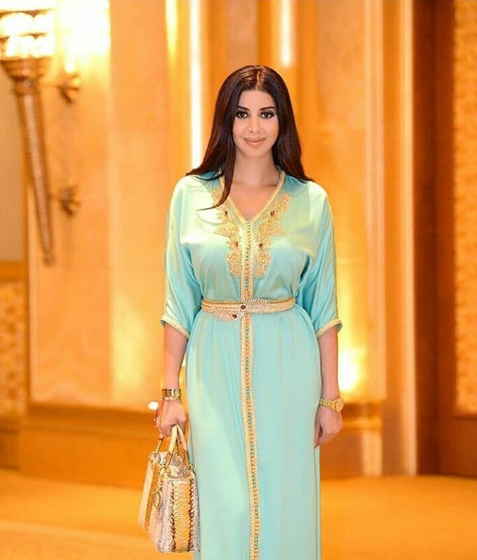 Caftan moderne simple 2019