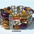 Bracelet_Francine_s_desing_mauve_et_jaune1_VENDU