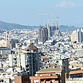 Barcelone vue du teleferic