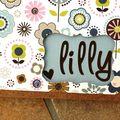 Mini-album Lilly détail 2