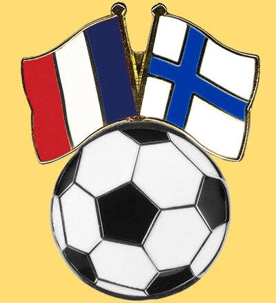 Pin's Ballon France & Finlande