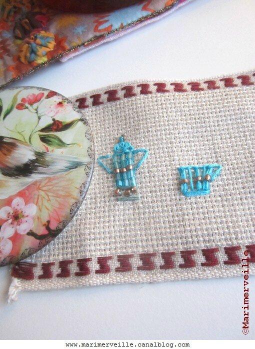 broderie de perles création marimerveille