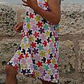 Première robe trapèze pour défi 13