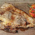 Poitrine de boeuf marinée sauce soja à la plancha