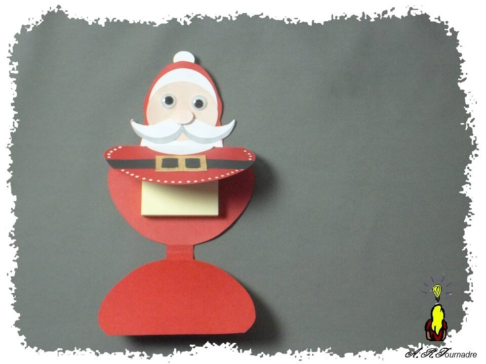 ART 2012 10 bloc post-it Pere noel 4