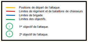 Legende_carte_objectifs_du_4_septembre_1916
