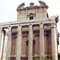 temple d'Antonin et de Faustine ROME